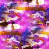 Bruin purple kunst van de achtergrondtextuurwaterverf, Stock Foto