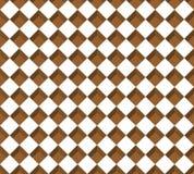 Bruin rechthoekpatroon Royalty-vrije Stock Afbeelding