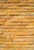 Bruin steenpatroon Stock Afbeeldingen
