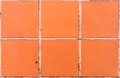 Bruin tegelspatroon Royalty-vrije Stock Afbeelding