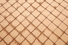 Bruin terracottadak Stock Afbeeldingen