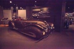 Bruin Type 135 lidstaten Special Roadster van Delahaye van 1937 stock afbeelding