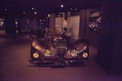 Bruin Type 135 lidstaten Special Roadster van Delahaye van 1937 royalty-vrije stock foto's