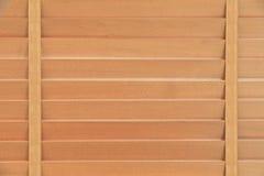 Bruin vensterblind stock afbeeldingen