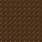 Bruinachtige metaalplaat Stock Afbeelding