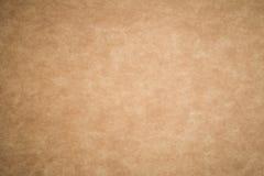 Bruine abstracte de textuurachtergrond van het kartonblad Royalty-vrije Stock Afbeeldingen
