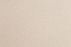 Bruine abstracte de textuurachtergrond van het kartonblad Stock Foto