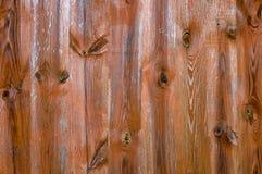 Bruine abstracte geometrische achtergrond met textuur van de Raad Stock Foto