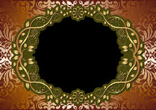 Bruine achtergrond Royalty-vrije Stock Foto's