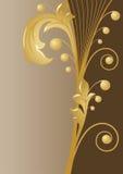 Bruine achtergrond royalty-vrije illustratie