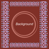 Bruine achtergrond Royalty-vrije Stock Afbeeldingen