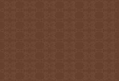 Bruine achtergrond met beige patroon Stock Afbeeldingen