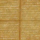 Bruine achtergrond met witte teksten voor ontwerp Royalty-vrije Stock Afbeelding