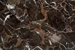 Bruine Ader Marmeren Steen stock afbeelding