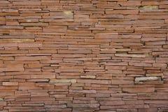 Bruine baksteen Royalty-vrije Stock Afbeelding
