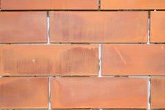 Bruine bakstenen muur Royalty-vrije Stock Foto's