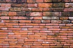 Bruine bakstenen muur Royalty-vrije Stock Fotografie