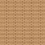 Bruine Bakstenen muurachtergrond Mooi bakstenen muur naadloos patroon royalty-vrije illustratie