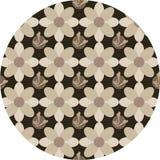 Bruine Bloemen Royalty-vrije Stock Foto