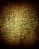 Bruine canvastextuur of achtergrond Stock Foto