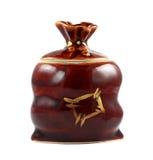 Bruine capaciteit voor kruid Royalty-vrije Stock Fotografie