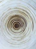 Bruine cirkel Royalty-vrije Stock Afbeelding