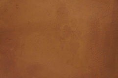 Bruine concrete muurachtergrond Royalty-vrije Stock Foto
