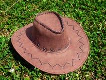 Bruine Cowboy Hat Royalty-vrije Stock Foto's