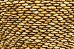 Bruine de rivier van de rots royalty-vrije stock afbeeldingen