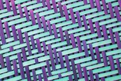 Bruine de textuur rieten oppervlakte van het ambachtsweefsel voor meubilairpartner Stock Fotografie