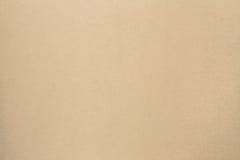Bruine de textuurachtergrond van het kartonblad Royalty-vrije Stock Foto's