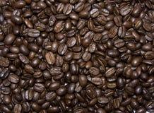 Bruine de textuurachtergrond van koffiebonen Royalty-vrije Stock Foto
