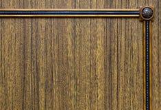 Bruine decoratieve houten textuur Stock Afbeeldingen
