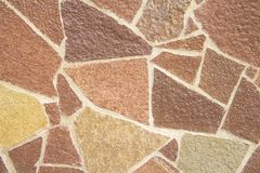 Bruine decoratieve tegels Stock Afbeeldingen