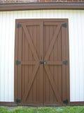 Bruine deur Royalty-vrije Stock Fotografie