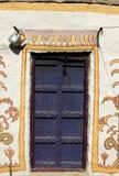 Bruine deur Stock Afbeelding