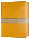 Bruine documentenvelop. Stock Foto's
