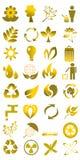 Bruine eco royalty-vrije illustratie