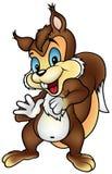 Bruine eekhoorn Stock Fotografie