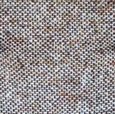 Bruine en beige jutevezel Royalty-vrije Stock Afbeeldingen