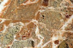 Bruine en grijze marmeren textuur als achtergrond Royalty-vrije Stock Fotografie