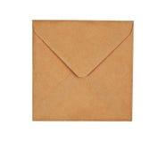 Bruine envelop Stock Foto