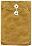 Bruine envelop Royalty-vrije Stock Foto's