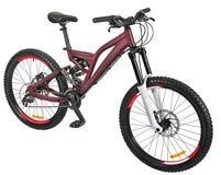 Bruine fiets Stock Fotografie