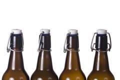 Bruine fles Stock Afbeelding