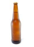 Bruine fles bier Royalty-vrije Stock Foto