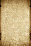 Bruine gebarsten achtergrond Stock Afbeelding