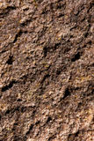 Bruine gebroken kiezelsteen Stock Fotografie