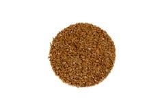 Bruine gekleurde rubbervloersteekproef Stock Afbeelding