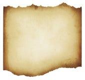 Bruine gescheurde grunge document textuur royalty-vrije stock foto